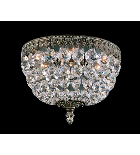 Schonbek Rialto 3 Light Wall Sconce in Parchment Bronze and Swarovski Crystal 5055-74A photo