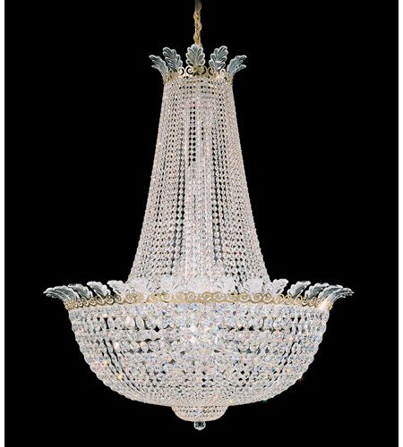 Schonbek Roman Empire 44 Light Chandelier in Polished Gold and Clear Spectra Crystal Trim 3722-20A photo
