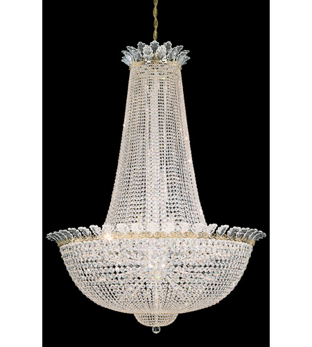 Schonbek Roman Empire 58 Light Chandelier in Polished Gold and Crystal Swarovski Elements Trim 3724-20S photo
