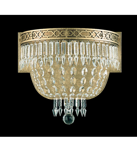Schonbek Romanoff 3 Light Wall Sconce in Heirloom Bronze and Clear Heritage Handcut (H) Trim 5712-76 photo