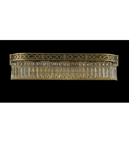 Schonbek Romanoff 5 Light Bath Light in Heirloom Bronze and Clear Heritage Handcut (H) Trim 5724-76 photo