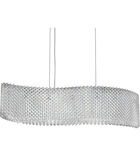 Stainless Steel Pendant Light schonbek re3214s refrax 13 light 32 inch stainless steel pendant ceiling light in clear swarovski photo