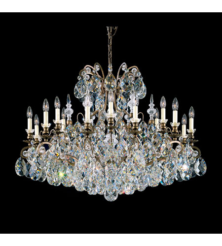 Schonbek 3792-76S Renaissance 19 Light 40 inch Heirloom Bronze Chandelier Ceiling Light in Clear Swarovski Elements photo