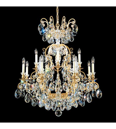 Schonbek Heirloom Gold Renaissance Chandeliers