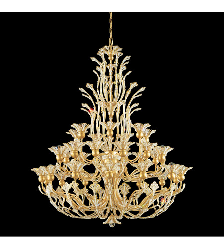 Schonbek 7868-23A Rivendell 36 Light 42 inch Etruscan Gold Chandelier Ceiling Light in Rivendell Spectra photo