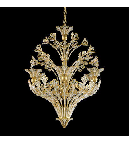 Schonbek 7883-22S Rivendell 12 Light 24 inch Heirloom Gold Chandelier Ceiling Light in Clear Swarovski photo