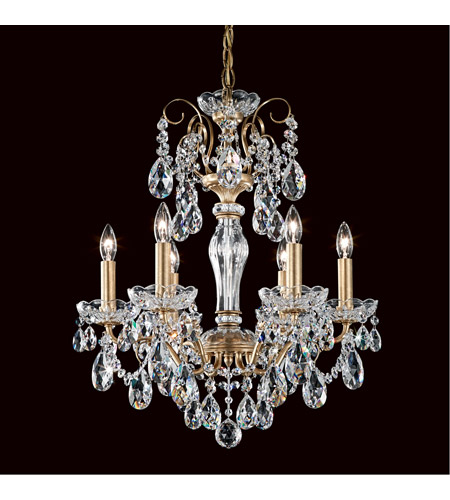 Heirloom Gold Sonatina Chandeliers