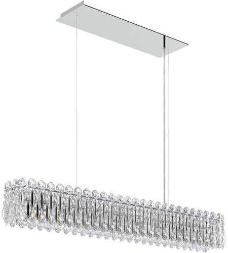 Schonbek Rs8342n 401h Sarella 8 Light 37 Inch Stainless Steel Island Ceiling In Heritage Polished