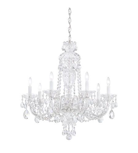 Schonbek 2995 40h sterling 7 light 25 inch silver chandelier ceiling schonbek 2995 40h sterling 7 light 25 inch silver chandelier ceiling light in clear heritage aloadofball Gallery