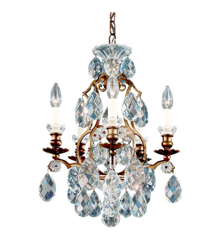 Schonbek Heirloom Bronze Renaissance Chandeliers