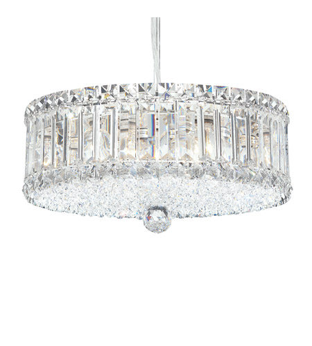 Schonbek 6670A Plaza 9 Light 15 inch Stainless Steel Pendant Ceiling Light in Clear Spectra photo