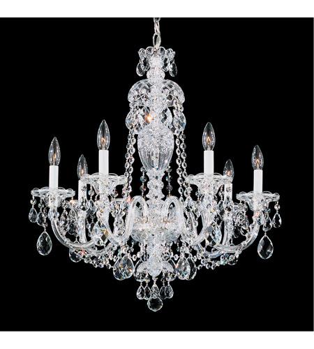 schonbek 299540h sterling 7 light 25 inch silver chandelier ceiling light in clear heritage - Schonbek Chandelier