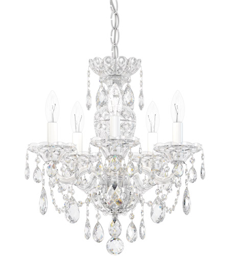 Schonbek 2999-40H Sterling 5 Light 16 inch Silver Chandelier Ceiling Light in Polished Silver, Clear Heritage photo