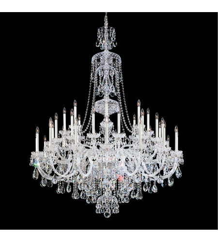Schonbek 3612-40H Sterling 45 Light 60 inch Silver Chandelier Ceiling Light in Clear Heritage photo