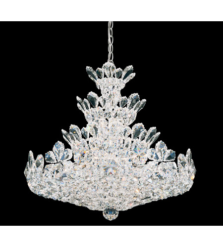 Schonbek 5858S Trilliane 24 Light 24 inch Silver Chandelier Ceiling Light in Clear Swarovski photo