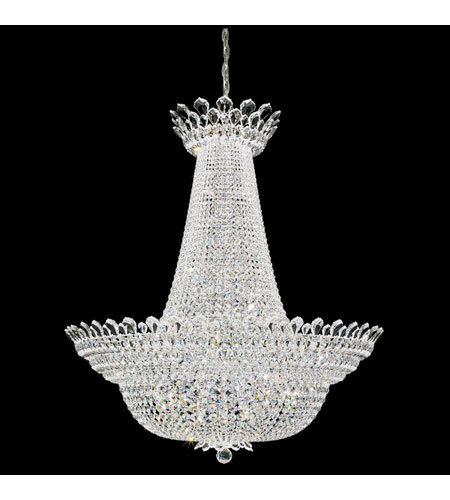 Schonbek Trilliane 76 Light Chandelier in Silver and Clear Spectra Crystal Trim 5875A photo