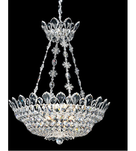 Schonbek 5799A Trilliane 12 Light 24 inch Silver Pendant Ceiling Light in Clear Spectra photo