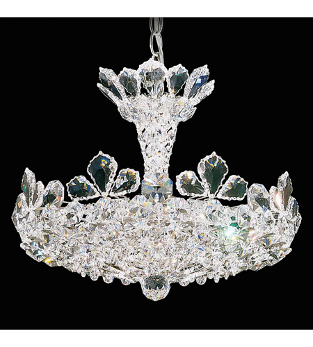 Schonbek 5853S Trilliane 6 Light 16 inch Silver Pendant Ceiling Light in Trilliane Swarovski photo