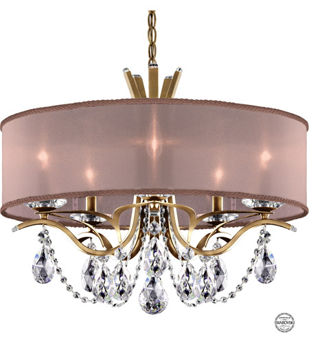 Schonbek Vesca Chandelier: Schonbek VA8305N-22S3 Vesca 5 Light 24 Inch Heirloom Gold