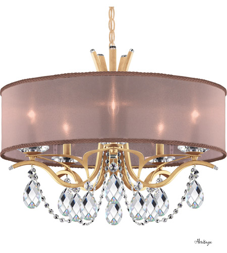 Schonbek Vesca Chandelier: Schonbek VA8305N-26H3 Vesca 5 Light 24 Inch French Gold