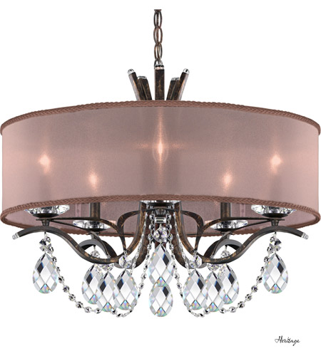 Schonbek Vesca Chandelier: Schonbek VA8305N-76H3 Vesca 5 Light 24 Inch Heirloom