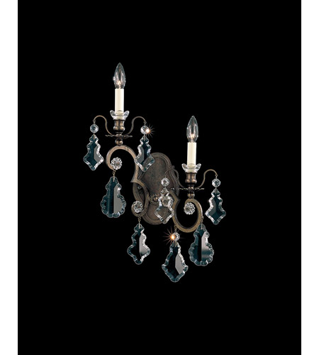 Schonbek 2757-76 Versailles 2 Light 5 inch Heirloom Bronze Wall Sconce Wall Light photo