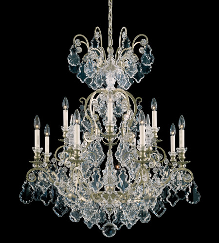 Schonbek 2772-44 Versailles 13 Light 32 inch Heirloom Silver Chandelier Ceiling Light photo