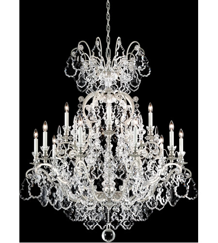 Antique Silver Versailles Chandeliers