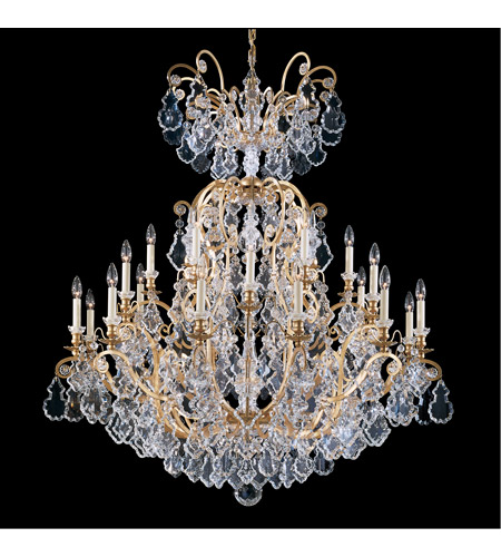 Heirloom Gold Versailles Chandeliers