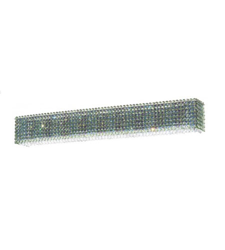 Schonbek Matrix 6 Light Wall Sconce in Stainless Steel and Crystal Swarovski Elements Trim MTW3605S photo