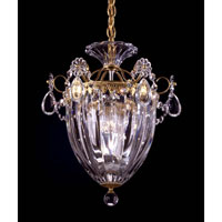 Bagatelle 3 Light 11 inch Heirloom Gold Pendant Ceiling Light in Clear Swarovski