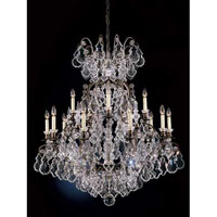 Schonbek Versailles 15 + 1 Light Chandelier in French Antique and Handcut Crystal 2773-11