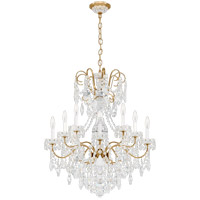 Schonbek 3657-22H New Orleans 10 Light 28 inch Heirloom Gold Chandelier Ceiling Light in New Orleans Heritage