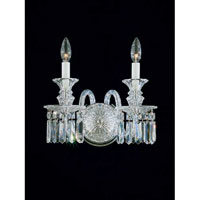 Schonbek 5036 Fairfax 2 Light 13 inch Silver Wall Sconce Wall Light