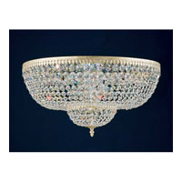 Schonbek Rialto 10 + 4 Light Ceiling Fixture in Heirloom Silver and Swarovski Crystal 5054-44A