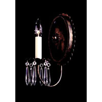 Schonbek Early American 1 Light Wall Sconce in Heirloom Bronze and Clear Legacy Collection Trim 5143-76