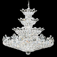 Trilliane 30 Light 30 inch Silver Chandelier Ceiling Light in Clear Spectra