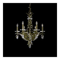 Schonbek Amytis 6 Light Pendant in Sandstone and Crystal Swarovski Elements Trim AM5406N-25S
