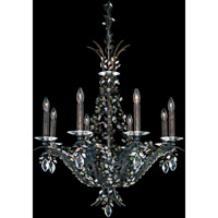 Amytis 8 Light 25 inch Heirloom Bronze Pendant Ceiling Light in Clear Swarovski