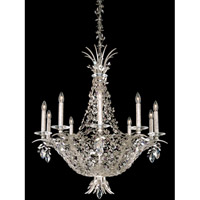 Amytis 10 Light 29 inch Antique Silver Pendant Ceiling Light in Clear Swarovski