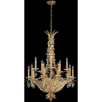 Amytis 15 Light 28 inch Heirloom Gold Pendant Ceiling Light in Clear Swarovski