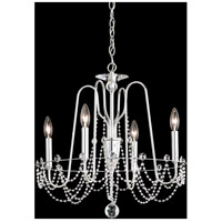 Schonbek AR1004N-40S Esmery 4 Light 21 inch Polished Silver Chandelier Ceiling Light in Swarovski