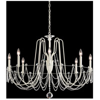 Schonbek AR1008N-06H Esmery 8 Light 37 inch White Chandelier Ceiling Light in Heritage