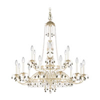 Schonbek Adagio 18 Light Chandelier in Antique Silver with Black Diamond Vintage Crystal Colors 5110-48BD photo thumbnail