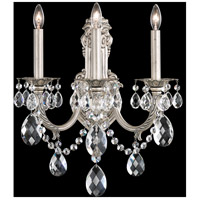Schonbek AL6503N-83H Alea 3 Light 10 inch Florentine Bronze Wall Sconce Wall Light in Clear Heritage photo thumbnail