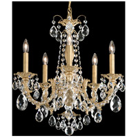 Schonbek AL6505N-76H Alea 5 Light 19 inch Heirloom Bronze Chandelier Ceiling Light in Clear Heritage photo thumbnail