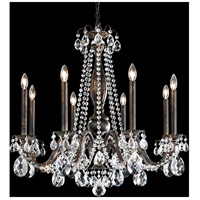 Schonbek AL6508N-22A Alea 8 Light 31 inch Heirloom Gold Chandelier Ceiling Light in Clear Spectra