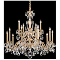 Schonbek AL6535N-22A Alea 15 Light 36 inch Heirloom Gold Chandelier Ceiling Light in Clear Spectra