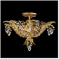 Amytis 3 Light 20 inch Heirloom Gold Semi Flush Mount Ceiling Light in Ray
