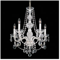 Arlington 5 Light 21 inch Silver Chandelier Ceiling Light